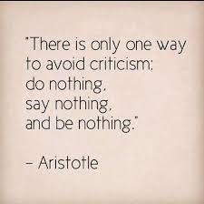 avoid criticism
