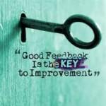 good feeback is key to improvement