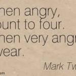 mark twain when very angry swear