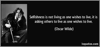 selfish love a poem unashamed writing