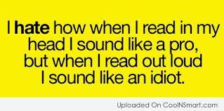 read in my head