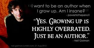 growing up to be an author