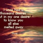 rumi a thousand desires