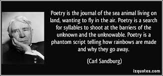 carl sandburg poetry