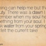 rumi my soul heard from your soul